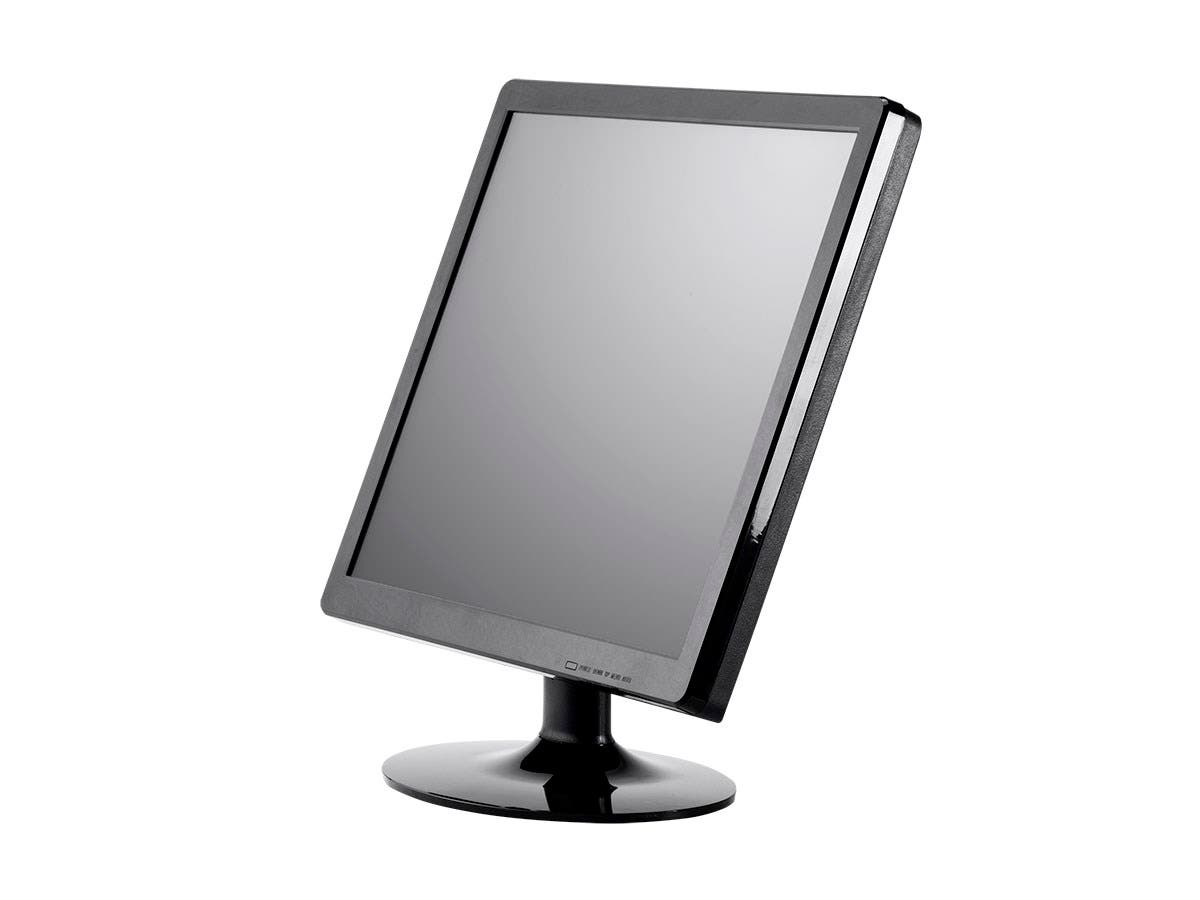 Monoprice 17-Inch 5-Wire Resistive LCD Touch Screen Monitor (4:3)-Large-Image-1