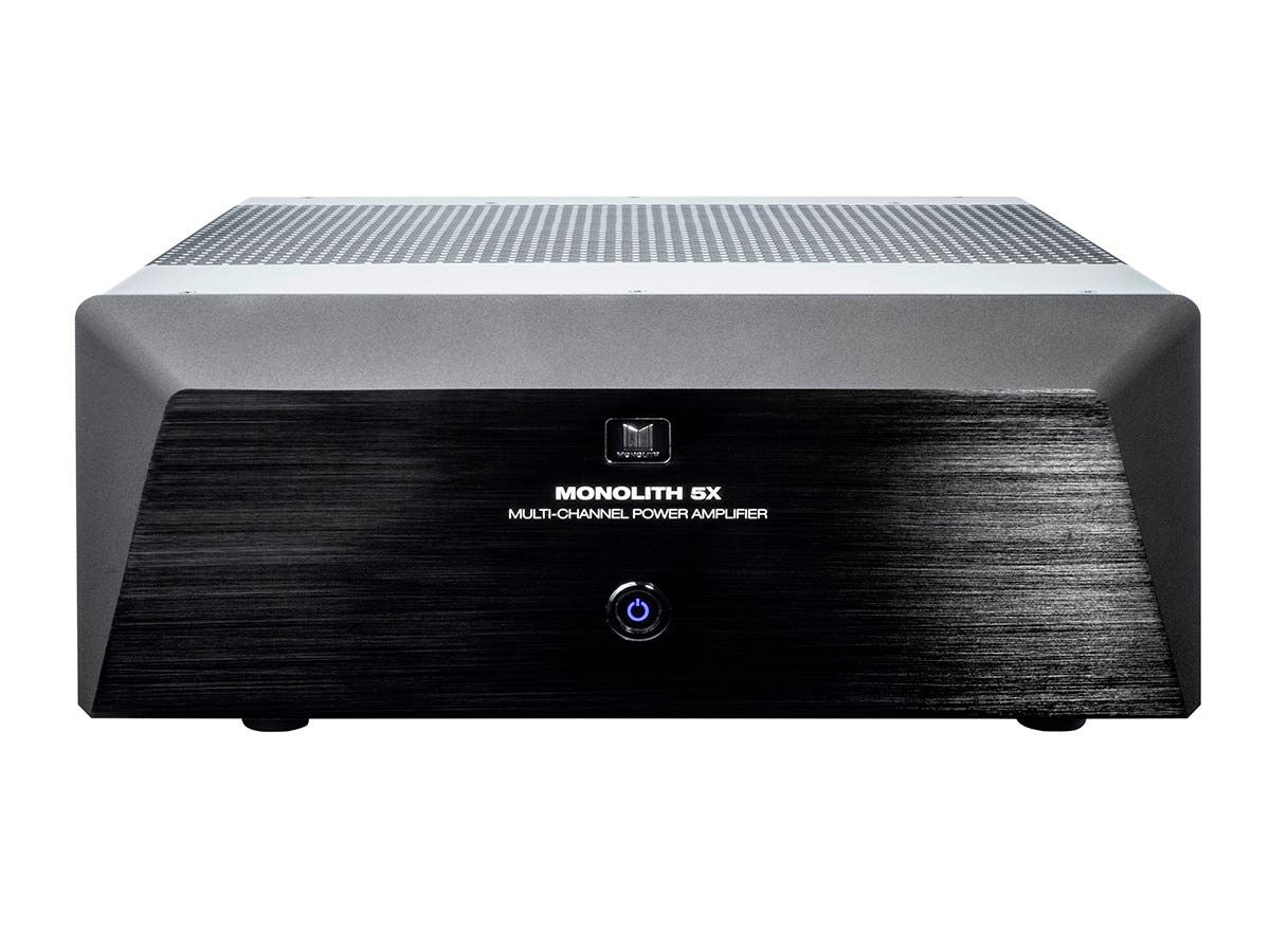 Monolith by Monoprice 5x200 Watts Per Channel Multi-Channel Home Theater Power Amplifier with XLR inputs-Large-Image-1
