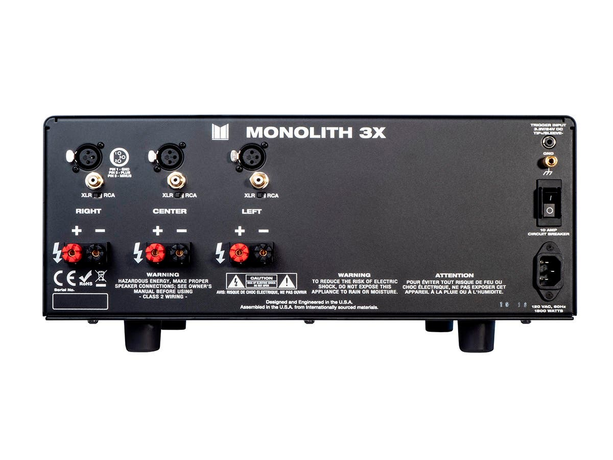 Monolith By Monoprice 3x200 Watts Per Channel Multi Home Remote View Mobile Dvr With Shock Sensor And Wifi Antenna Theater Power Amplifier Xlr