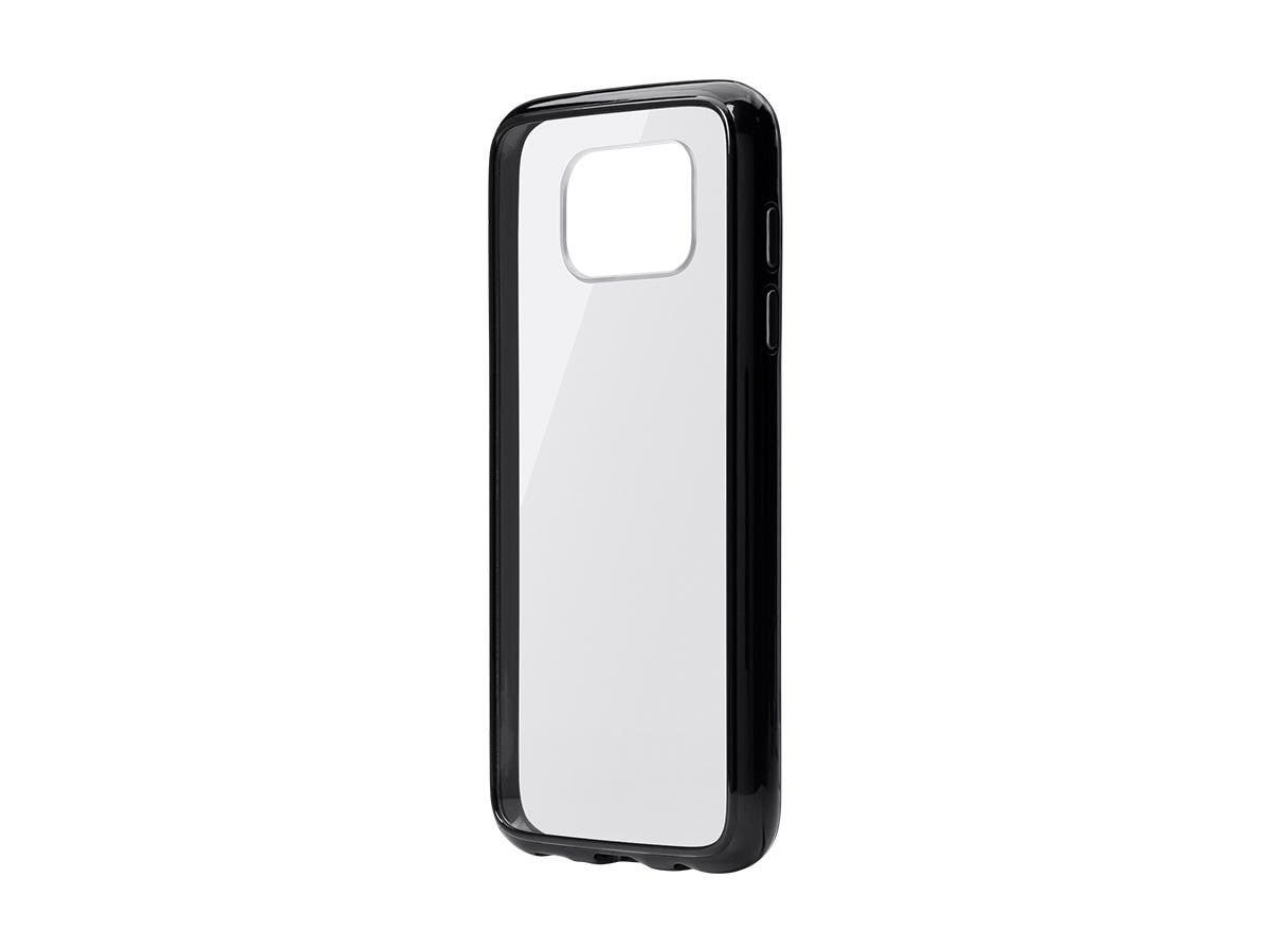 Monoprice Flex Case for Samsung S7 Edge, Black-Large-Image-1