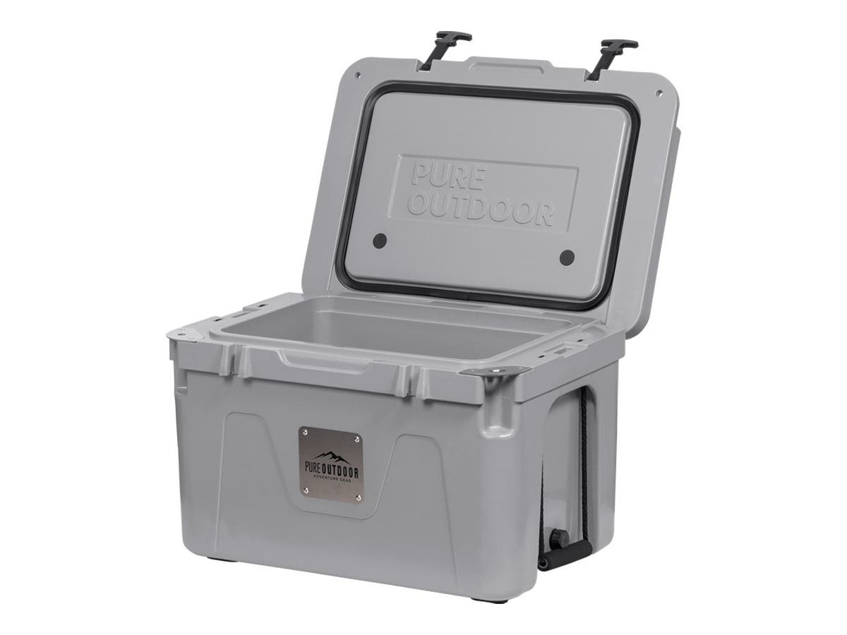 Pure Outdoor by Monoprice Emperor 25 Cooler, Gray-Large-Image-1