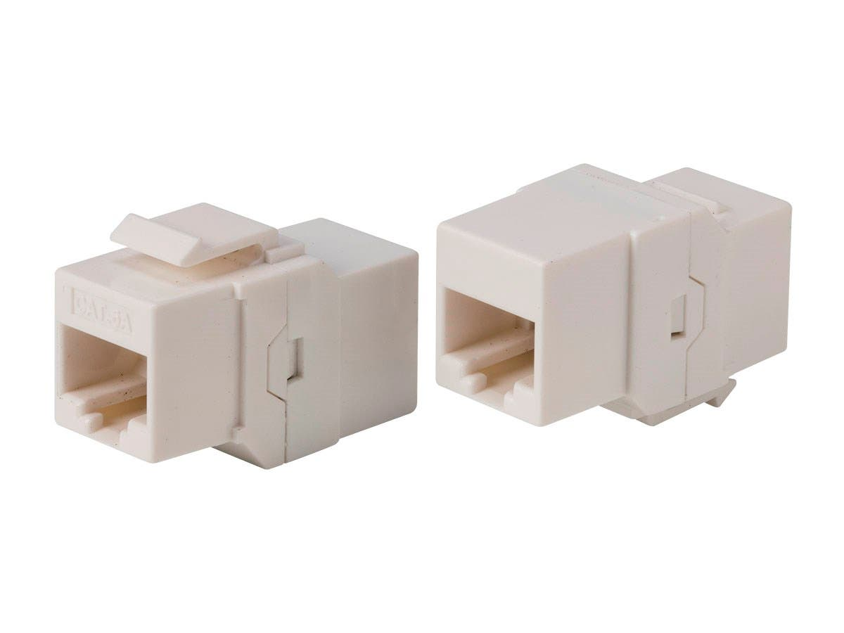 Monoprice Cat6A UTP Keystone In-Line Coupler RJ45-RJ45 - main image
