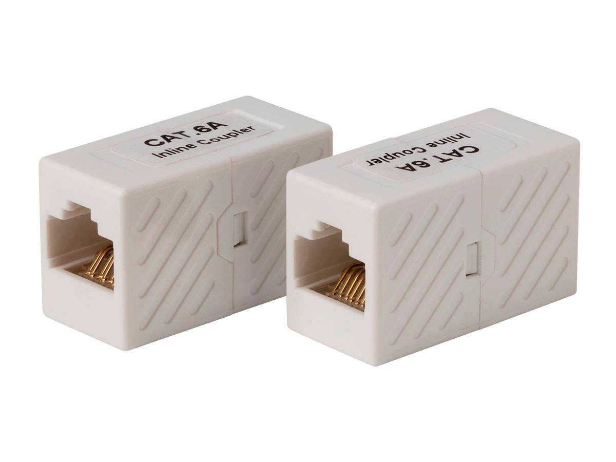 Cat6A UTP In-Line Coupler RJ45-RJ45