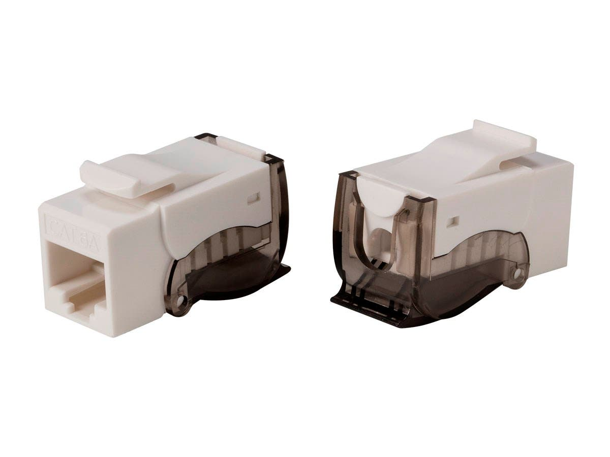 Monoprice Cat6A RJ45 Toolless Push Lever 90-Degree Keystone-Large-Image-1