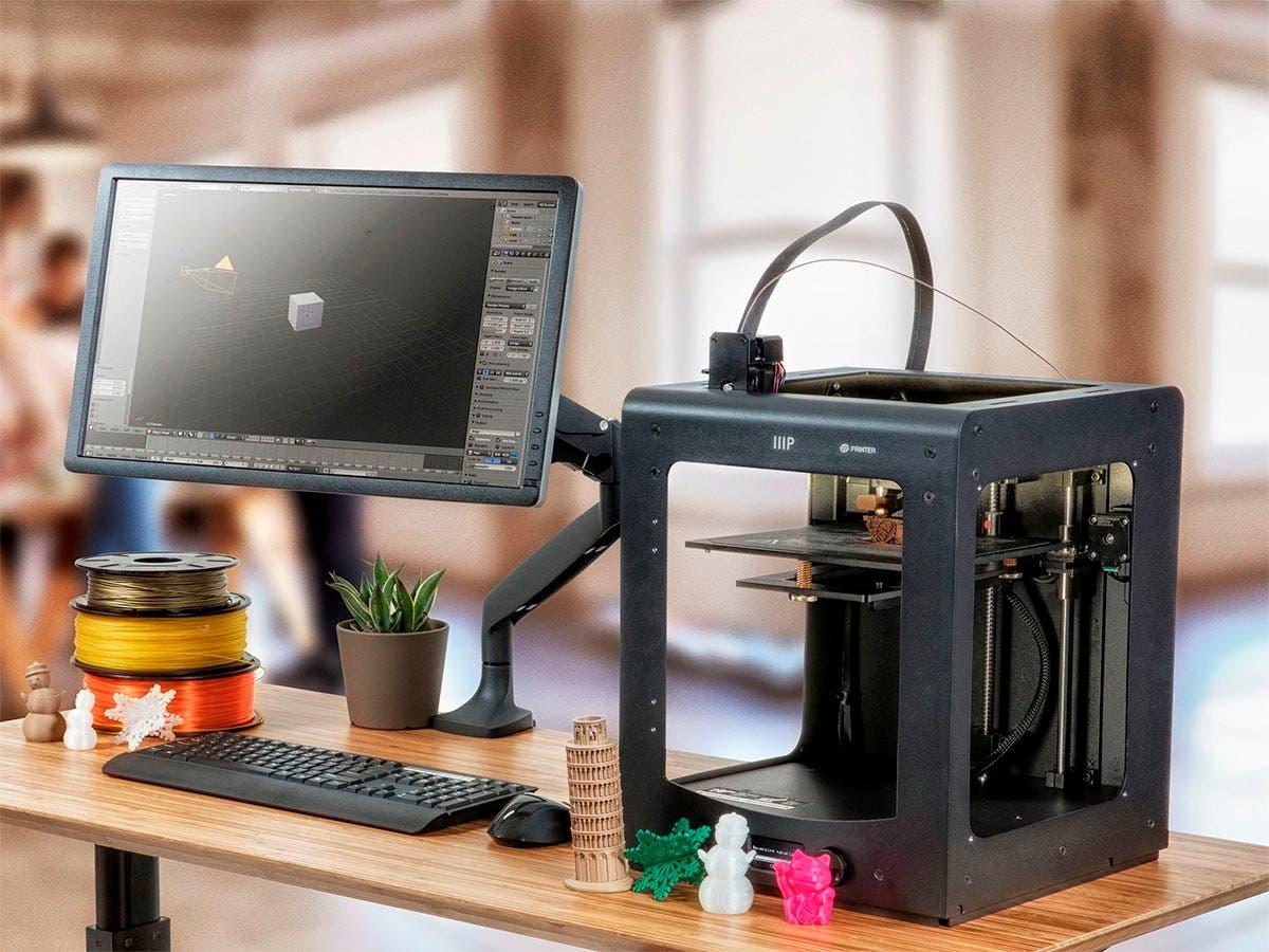 Monoprice Maker Ultimate 3D Printer - MK11 DirectDrive Extruder
