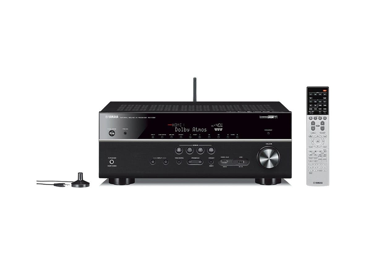 Yamaha RX-V681BL 7.2CH Dolby Atmos & DTS:X 4K Ultra HD MusicCast Networking Receiver