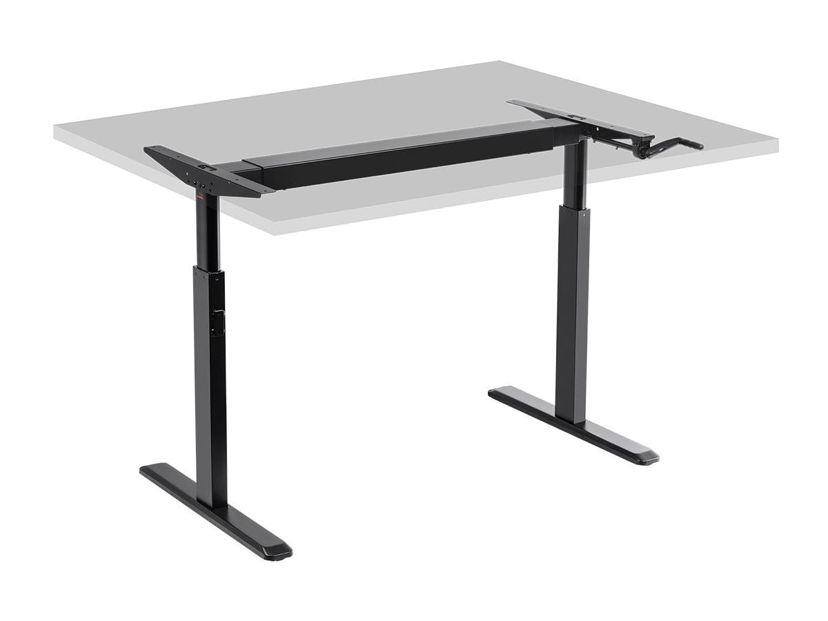 Workstream By Mono Sit Stand Height Adjule Table Desk Frame Workstation Manual Crank