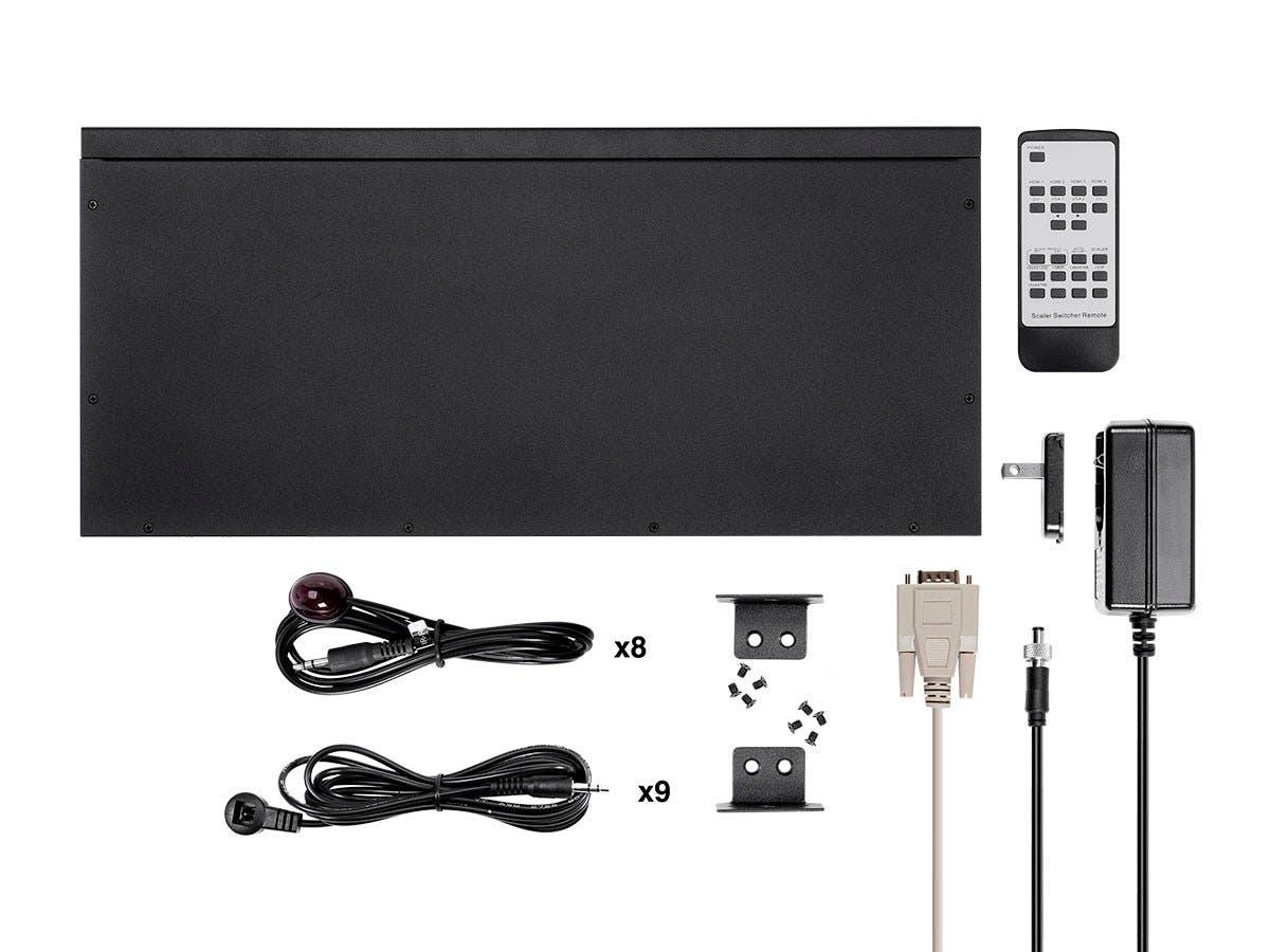 Monoprice Blackbird 4k 8x8 Hdmi Matrix With Edid Rs232 Ir Cat5 Wiring On Av Switches Audio Video Switch Coaxial