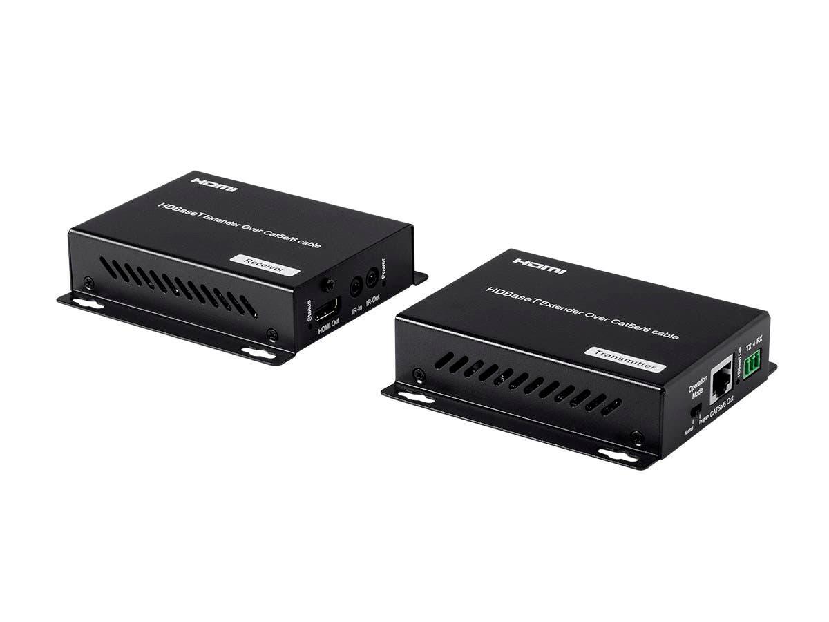 Blackbird 4K HDBaseT Extender Kit, 100m with PoC, RS232, HDCP 2.2