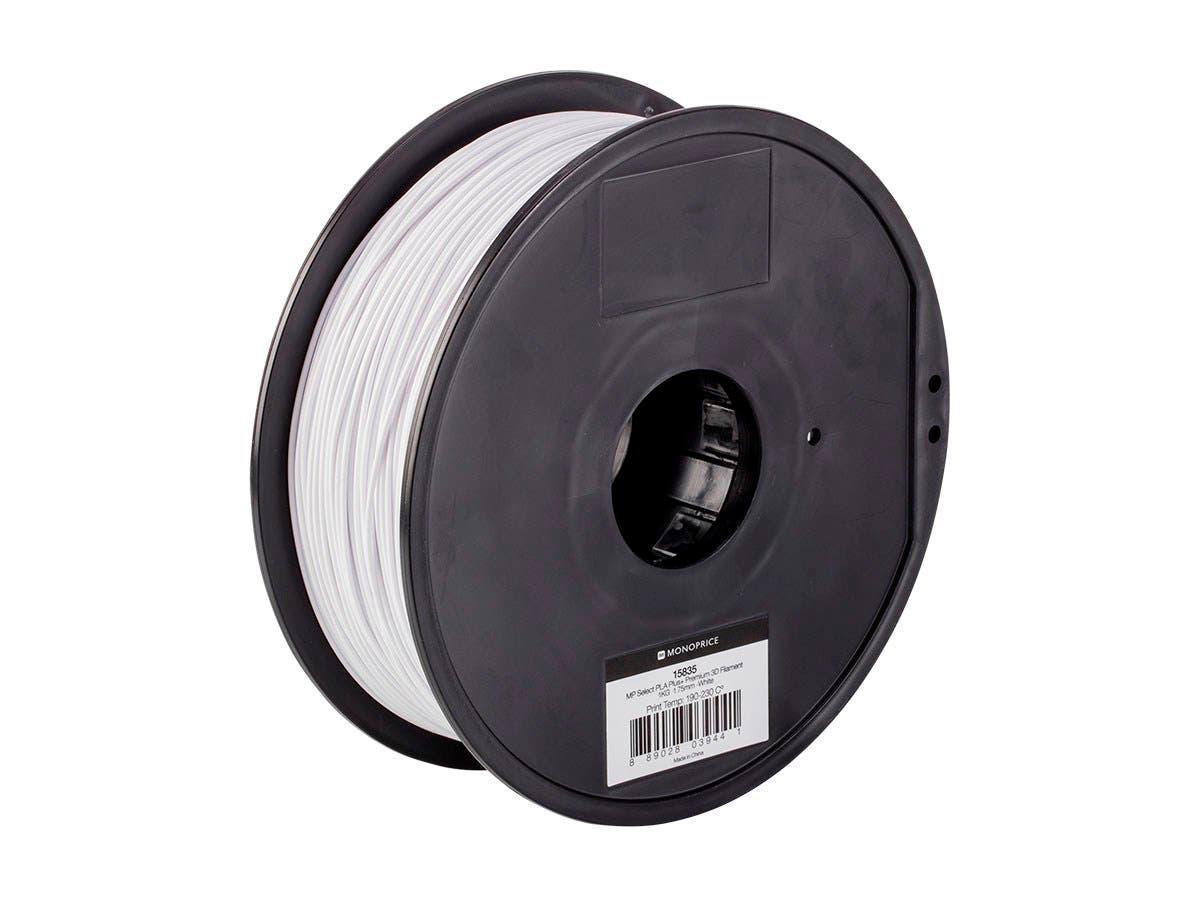 Premium White 3D Printer Filament PLA 1kg per Spool 1.75mm 3D Printing Material