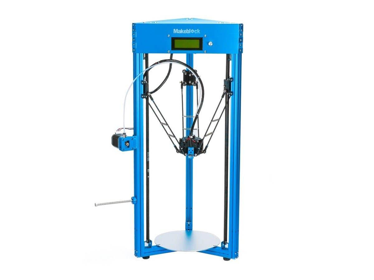 DIY Makeblock mGiraffe Aluminum Delta 3D Printer Kit