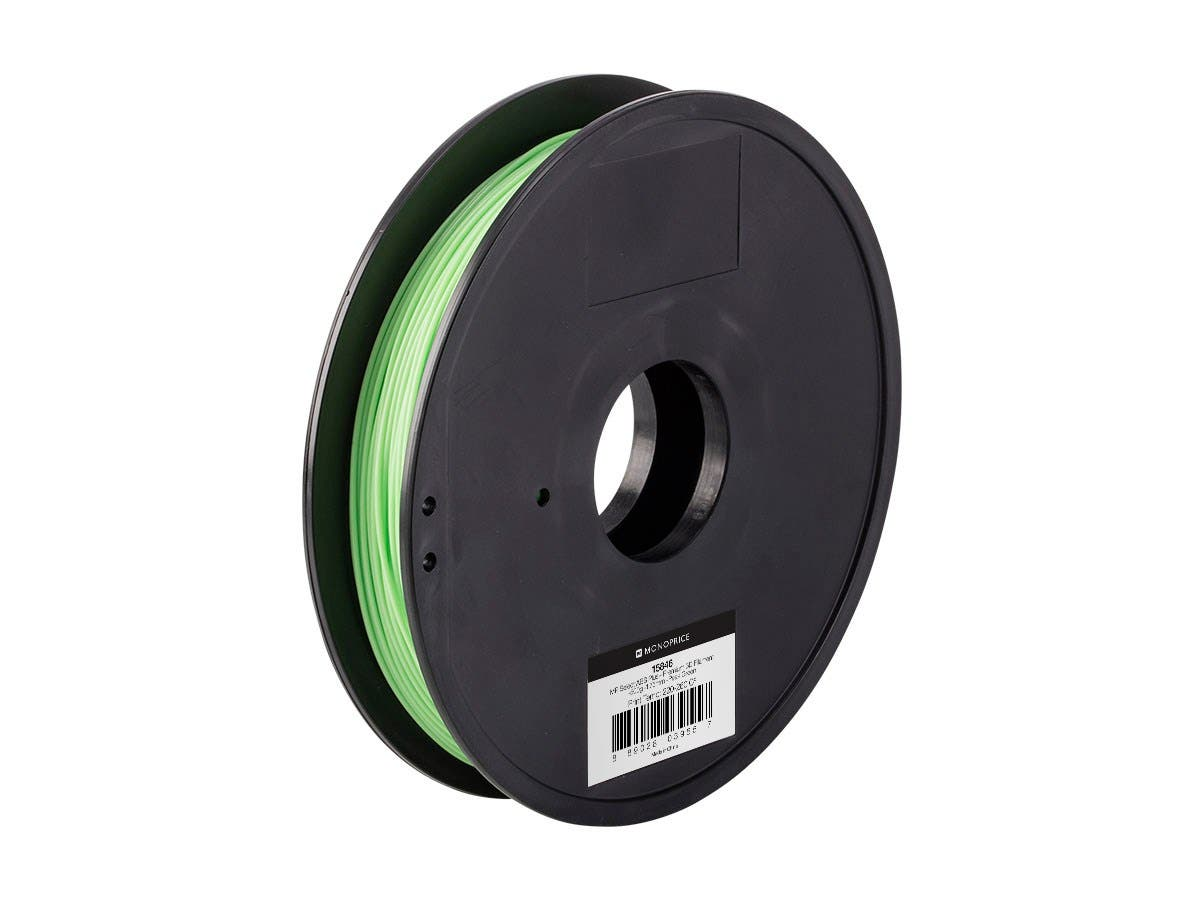MP Select ABS Plus+ Premium 3D Filament, 0.5kg 1.75mm, Peak Green