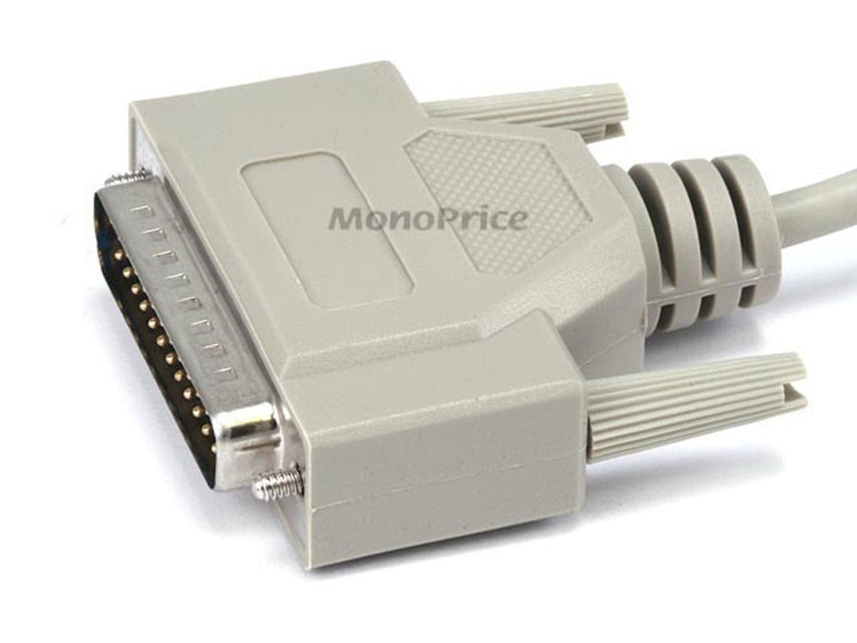 Monoprice 25ft DB25 M/M Molded Cable - Monoprice.com