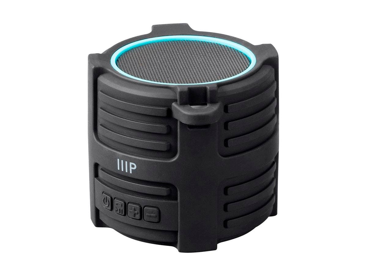 Monoprice Deep Blue Sub75 Submersible Waterproof Bluetooth Speaker IPX7-Large-Image-1