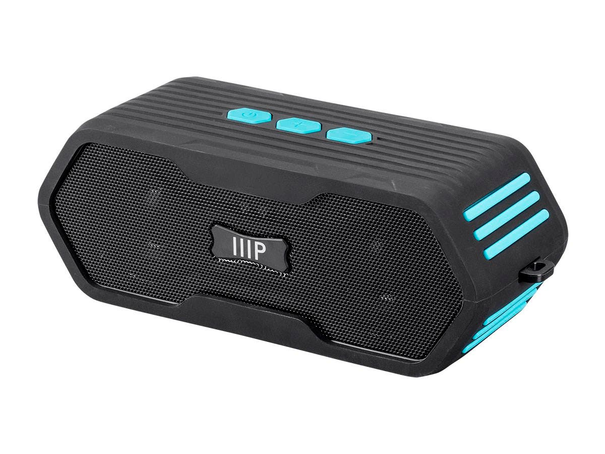 Monoprice Deep Blue Sub710 Submersible Waterproof Bluetooth Speaker IPX7-Large-Image-1