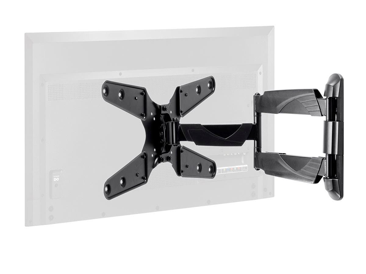 Monoprice Select Series Full-Motion Articulating TV Wall Mount Bracket For TVs 24in to 55in, Max Weight 77lbs, VESA Patterns Up to 400x400, Rotating , UL Certified-Large-Image-1