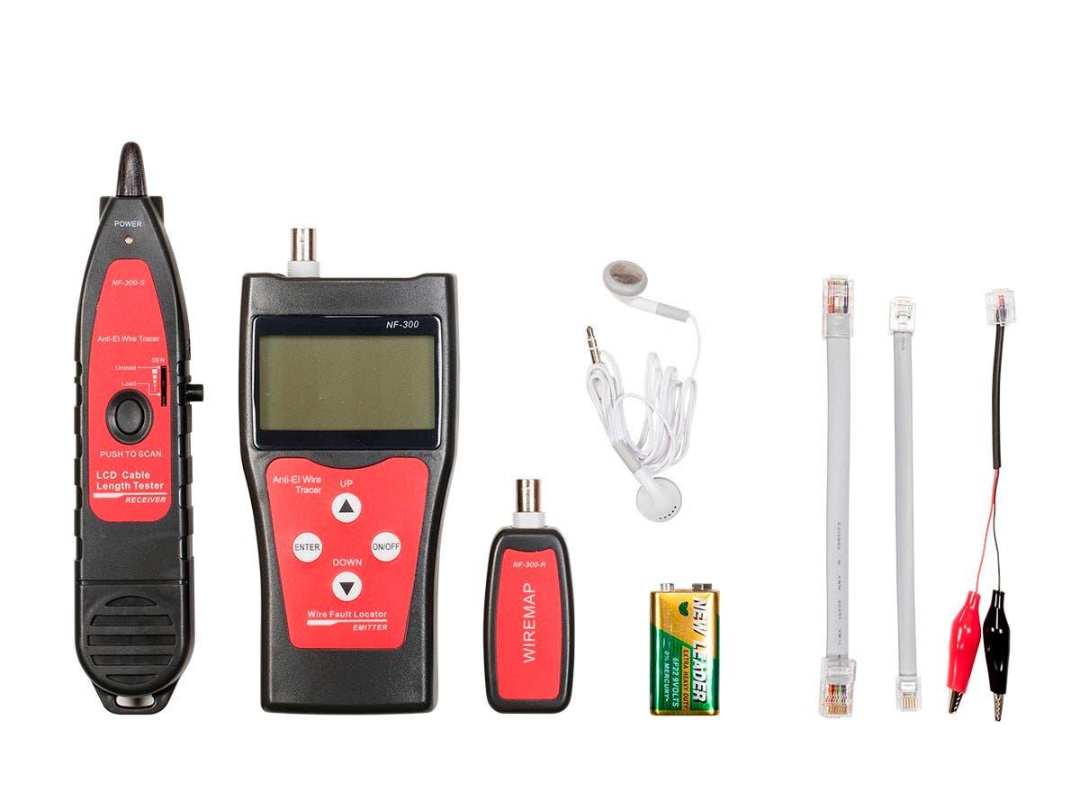 Monoprice Professional Coaxial, RJ-45, RJ-11/12, BNC, and USB ...