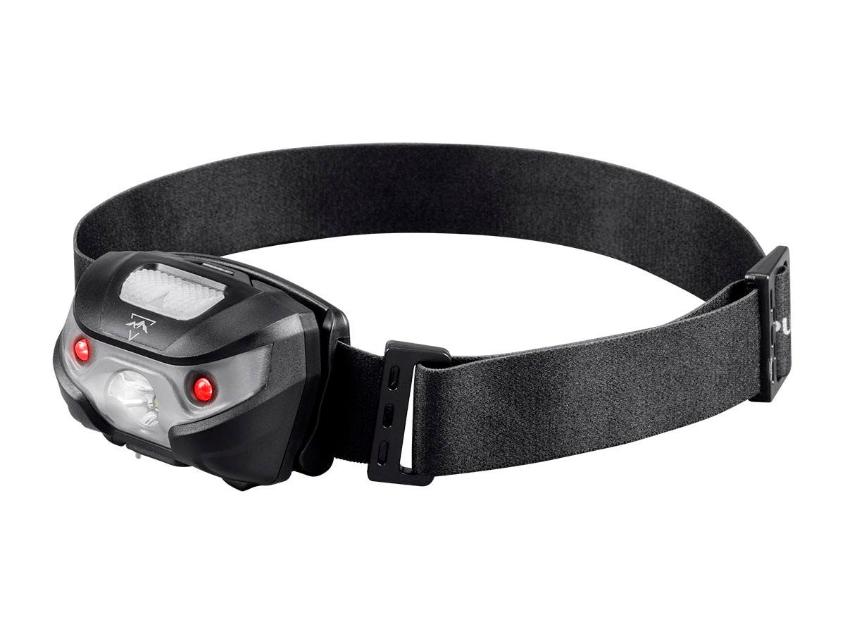 Pure Outdoor by Monoprice Select Series Headlamp, Black-Large-Image-1