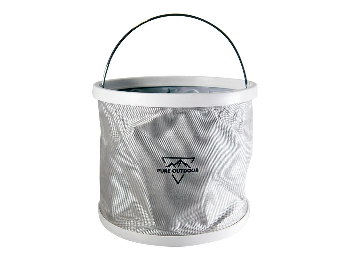 Pure Outdoor Folding Bucket, 9 Liters-Large-Image-1