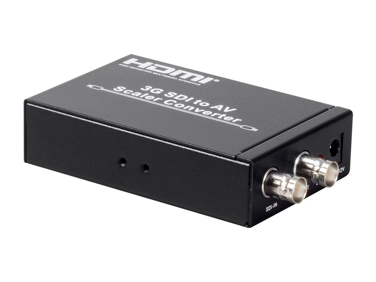 3G-SDI to AV Scaler Converter