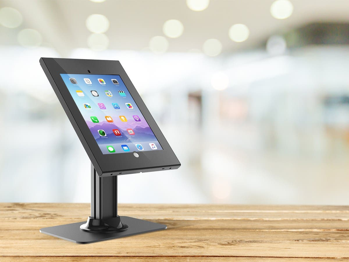 Monoprice Safe And Secure Tablet Desktop Display Stand For