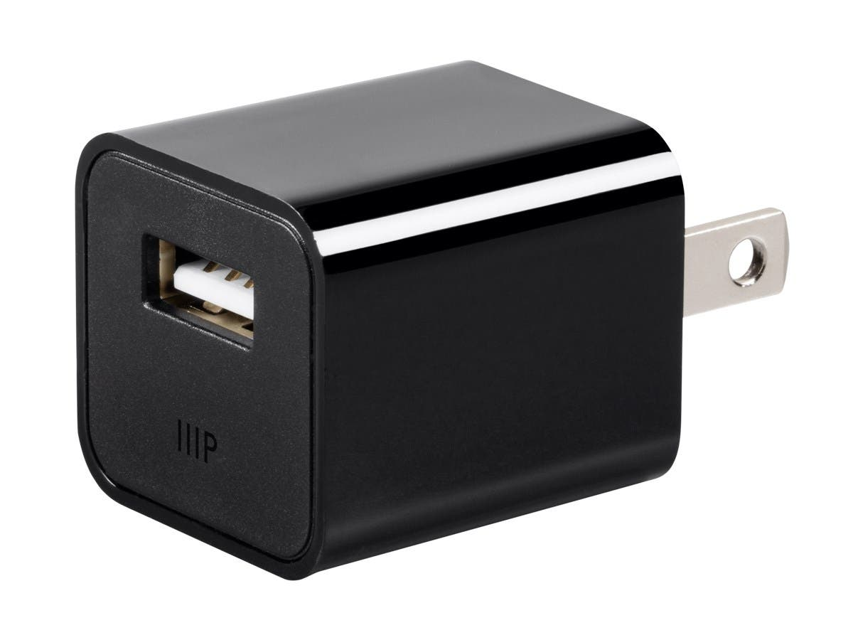 Monoprice Select Series 1-Port 1A USB Wall Charger-Large-Image-1