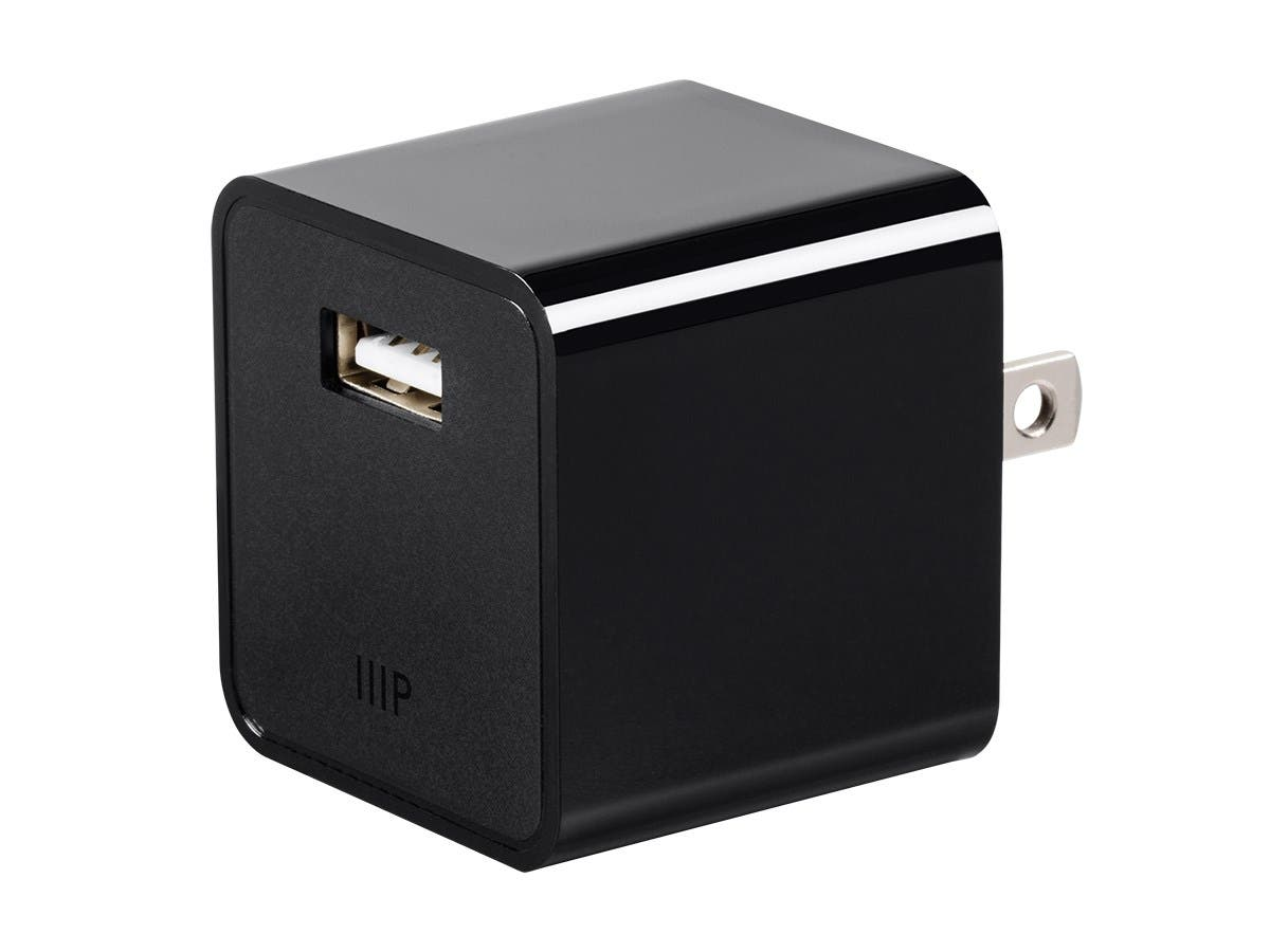 Monoprice Select Series 1-Port 2.1A USB Wall Charger-Large-Image-1