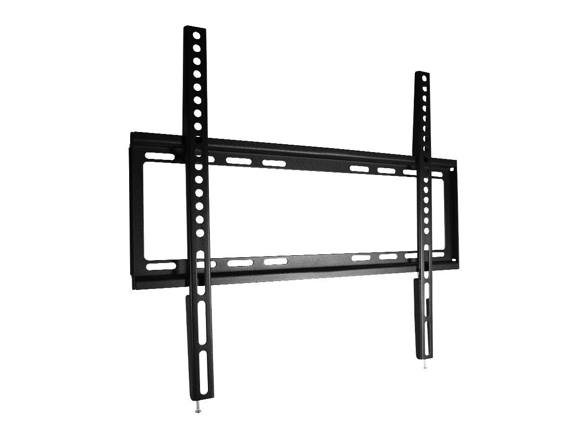 Monoprice Select Series Fixed TV Wall Mount Bracket For TVs Up to 55in, Max Weight 77lbs, VESA Patterns Up to 400x400, UL Certified-Large-Image-1