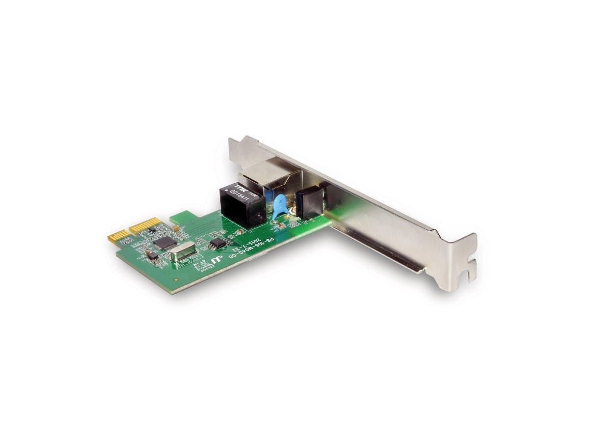 10/100/1000 Mbps Gigabit Ethernet PCI-E Adapter-Large-Image-1