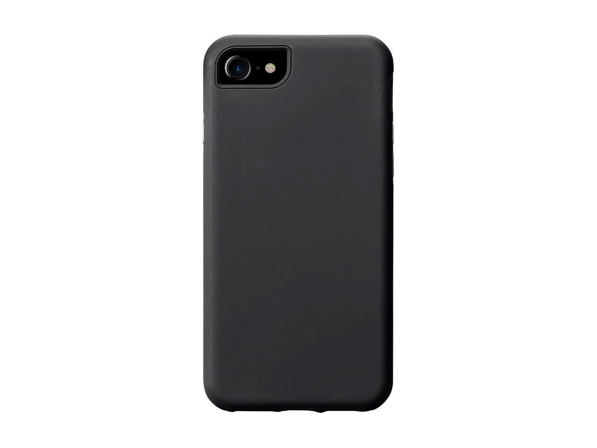 Monoprice PC+TPU Protector Case for 4.7-inch iPhone 8 / 7, Black-Large-Image-1