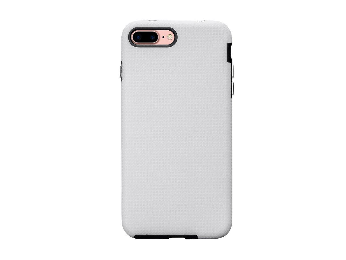 PC+TPU Protector Case for 5.5-inch iPhone 8 / 7 Plus, White
