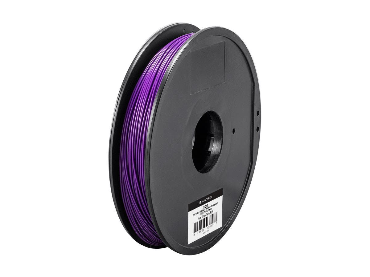 Monoprice MP Select PLA Plus+ Premium 3D Filament 1.75mm 0.5kg/spool, Purple-Large-Image-1