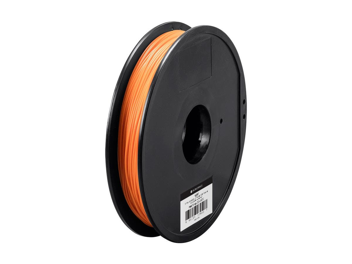 Monoprice MP Select ABS Plus+ Premium 3D Filament, 0.5kg 1.75mm, Orange-Large-Image-1