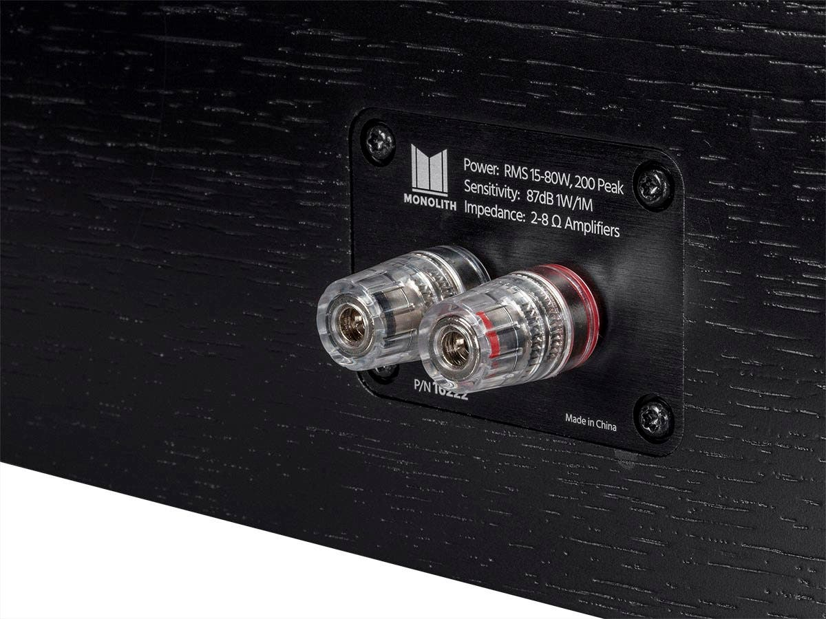 Monolith By Monoprice Air Motion Cinema Center Channel Speaker Each Movie Wiring Harness Small Image