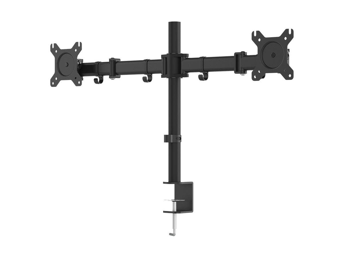 Essential Dual Monitor Articulating Arm Desk Mount-Large-Image-1