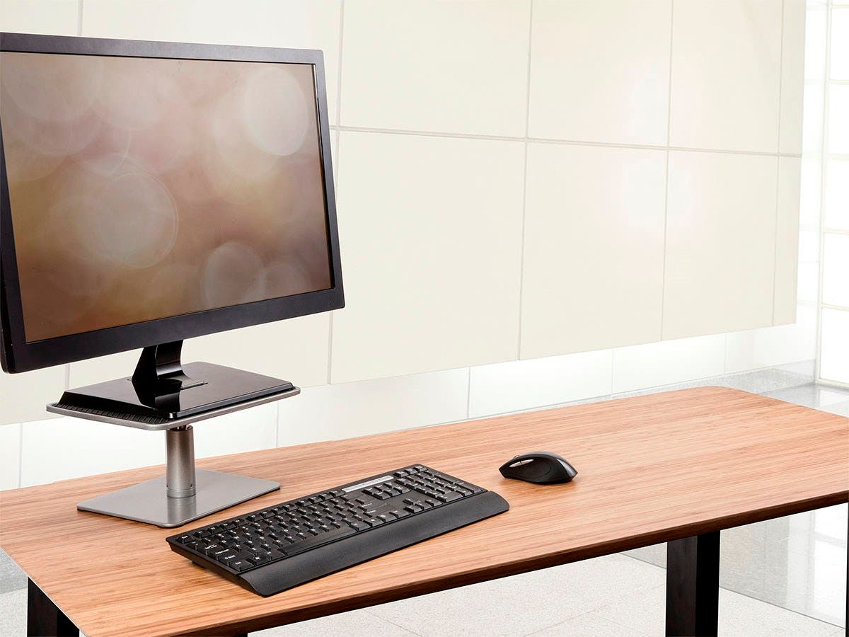 Workstream By Mono Universal Monitor Riser Stand Small Image 6