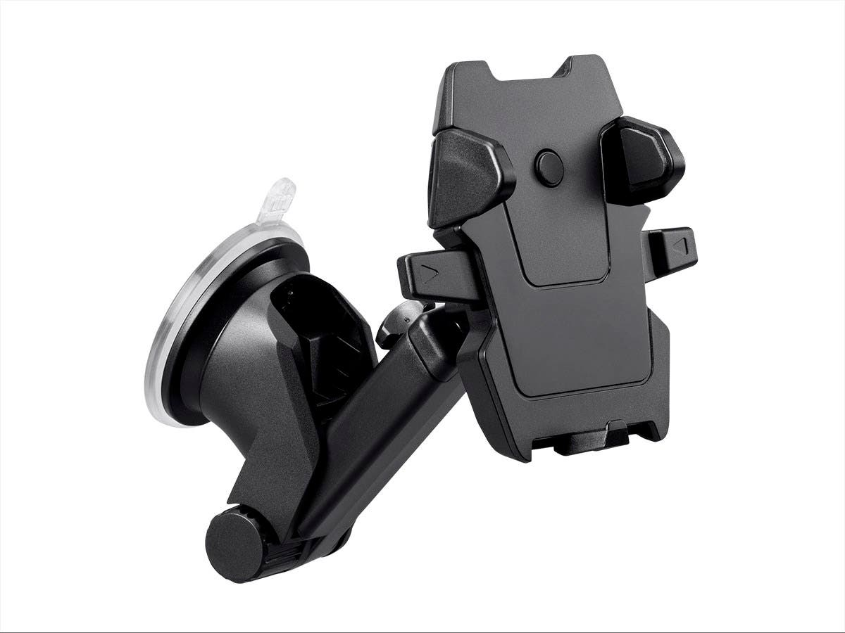 Monoprice Car Windshield Universal Phone Mount Holder with Telescopic Arm-Large-Image-1