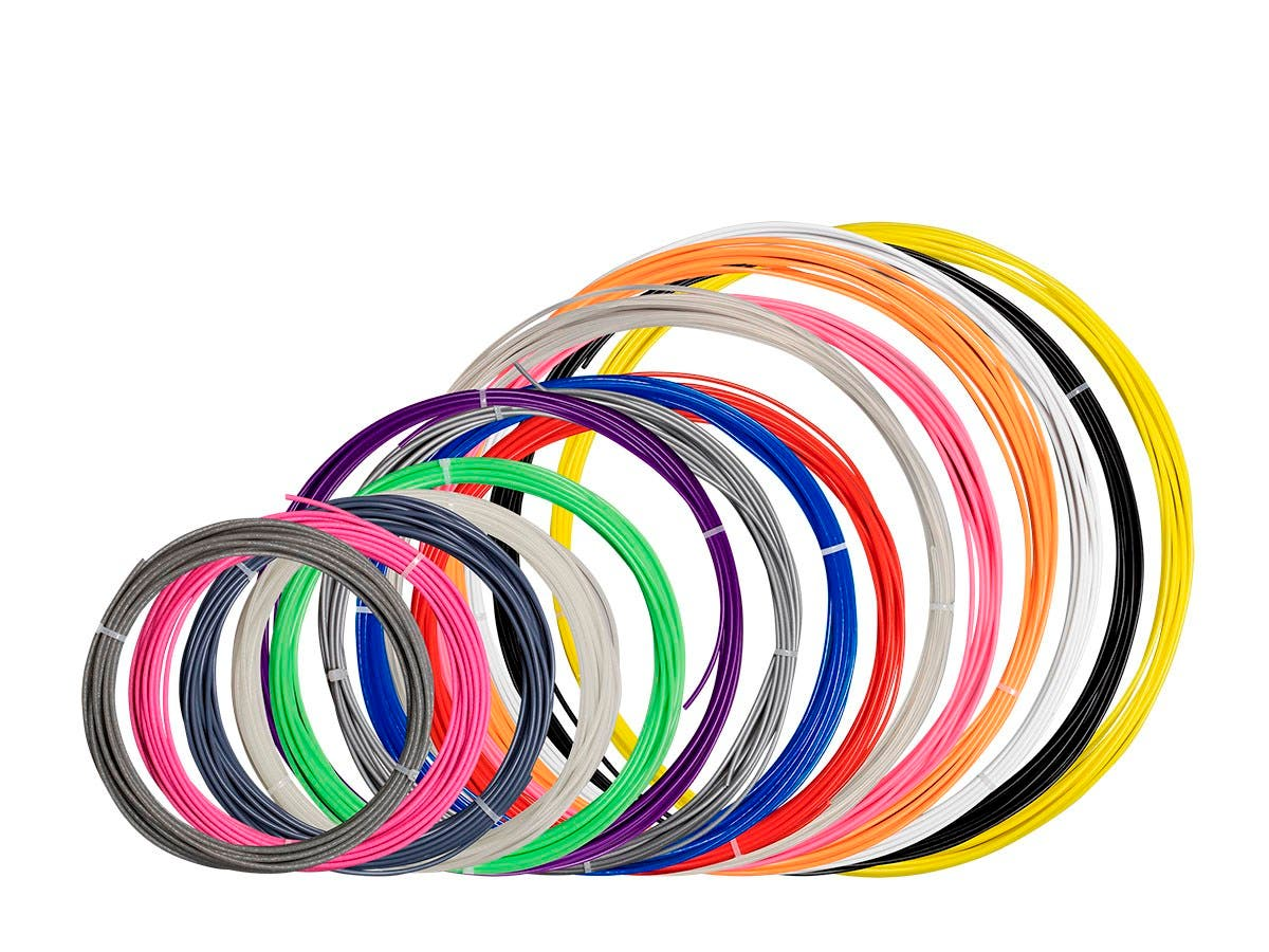 MP PLA 3D Printer Filament Sample Pack, Variety