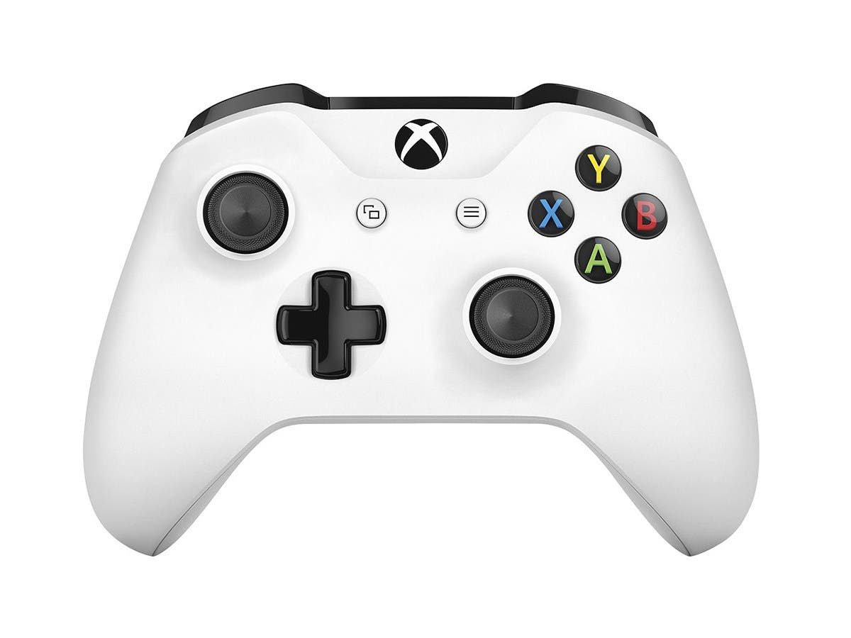 Microsoft XBOX One Wireless Controller - White-Large-Image-1