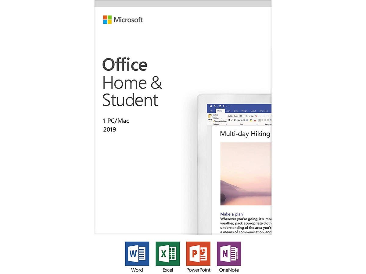 Microsoft Office Home and Student 2019 | 1 device, Windows 10 PC/Mac Key Card (79G-05029 )-Large-Image-1