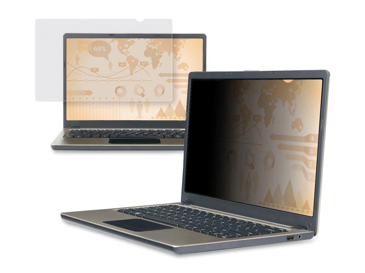 "3M 15.6"" Widescreen Laptop Privacy Filter - For 15.6""Notebook, Monitor"