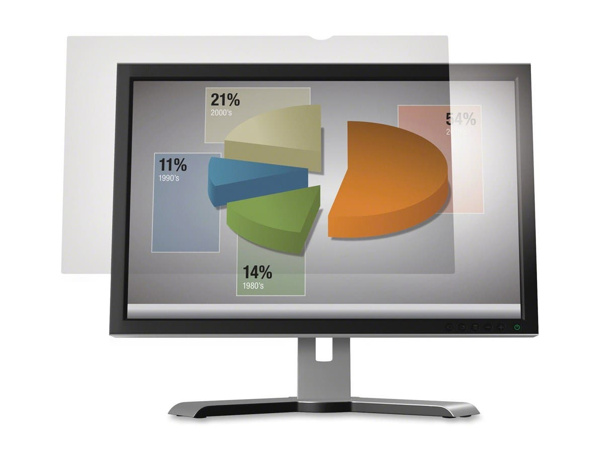 "3M AG215W9 Anti-Glare Filter for Widescreen Desktop LCD Monitor 21.5"" - For 21.5""Monitor-Large-Image-1"