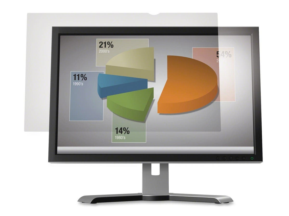 "3M AG19.0W Anti-Glare Filter for Widescreen Desktop LCD Monitor 19"" - For 19""Monitor-Large-Image-1"