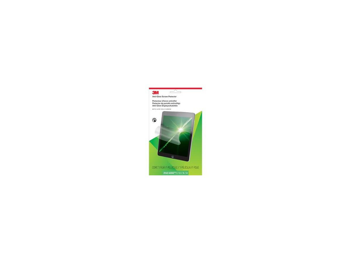 3M AFTAP002 Anti-Glare Screen Protector for Apple iPad mini 1/2/3/4 Transparent - iPad mini-Large-Image-1