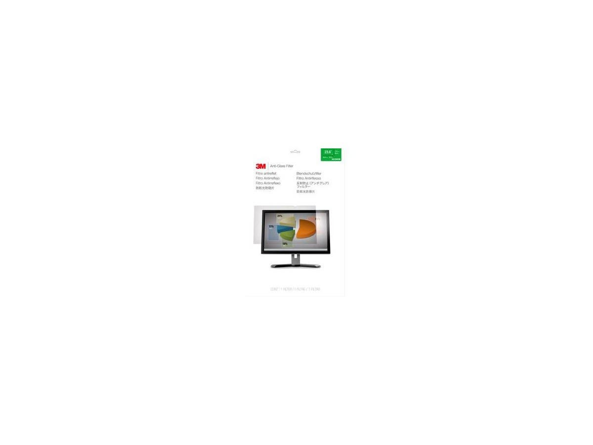 "3M 23.6"" Widescreen Anti-Glare Filter Clear - For 23.6""LCD Monitor-Large-Image-1"