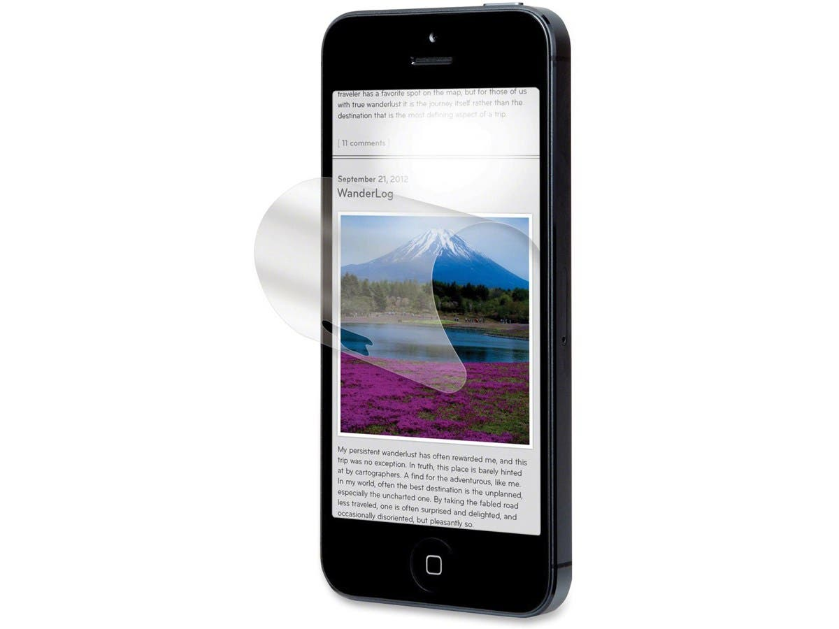 3M Anti-Glare Screen Protector for Apple iPhone 5/5s/5c - iPhone-Large-Image-1
