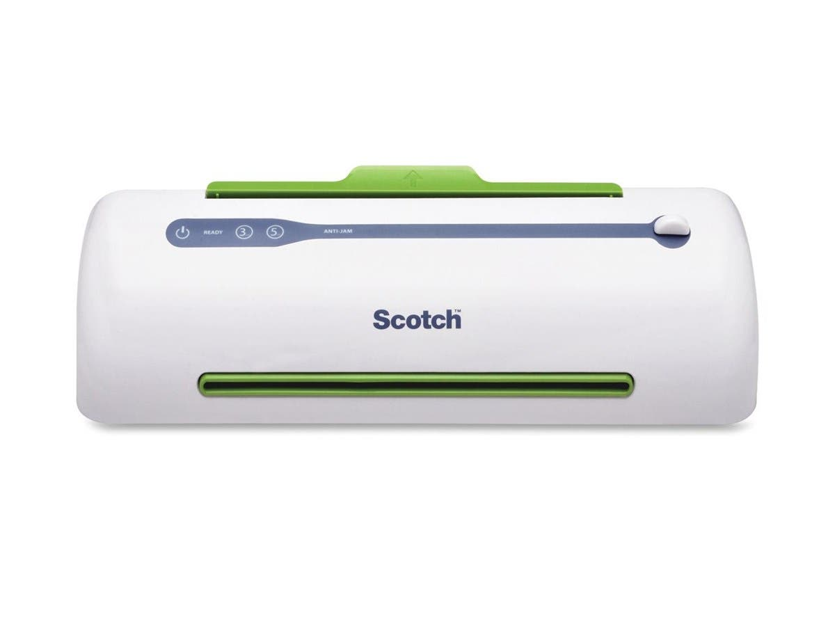 "Scotch 2 Roll Thermal Laminator - 9.50"" Lamination Width - 5 mil Lamination Thickness"