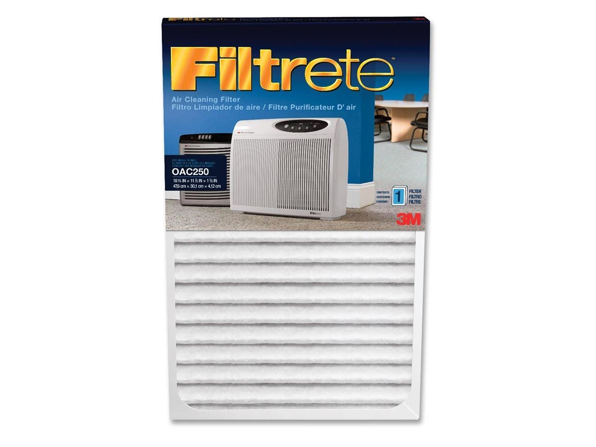 "Filtrete Replacement Air Filter - 1.6"" Height x 11.88"" Width x 18.75"" Length - White-Large-Image-1"