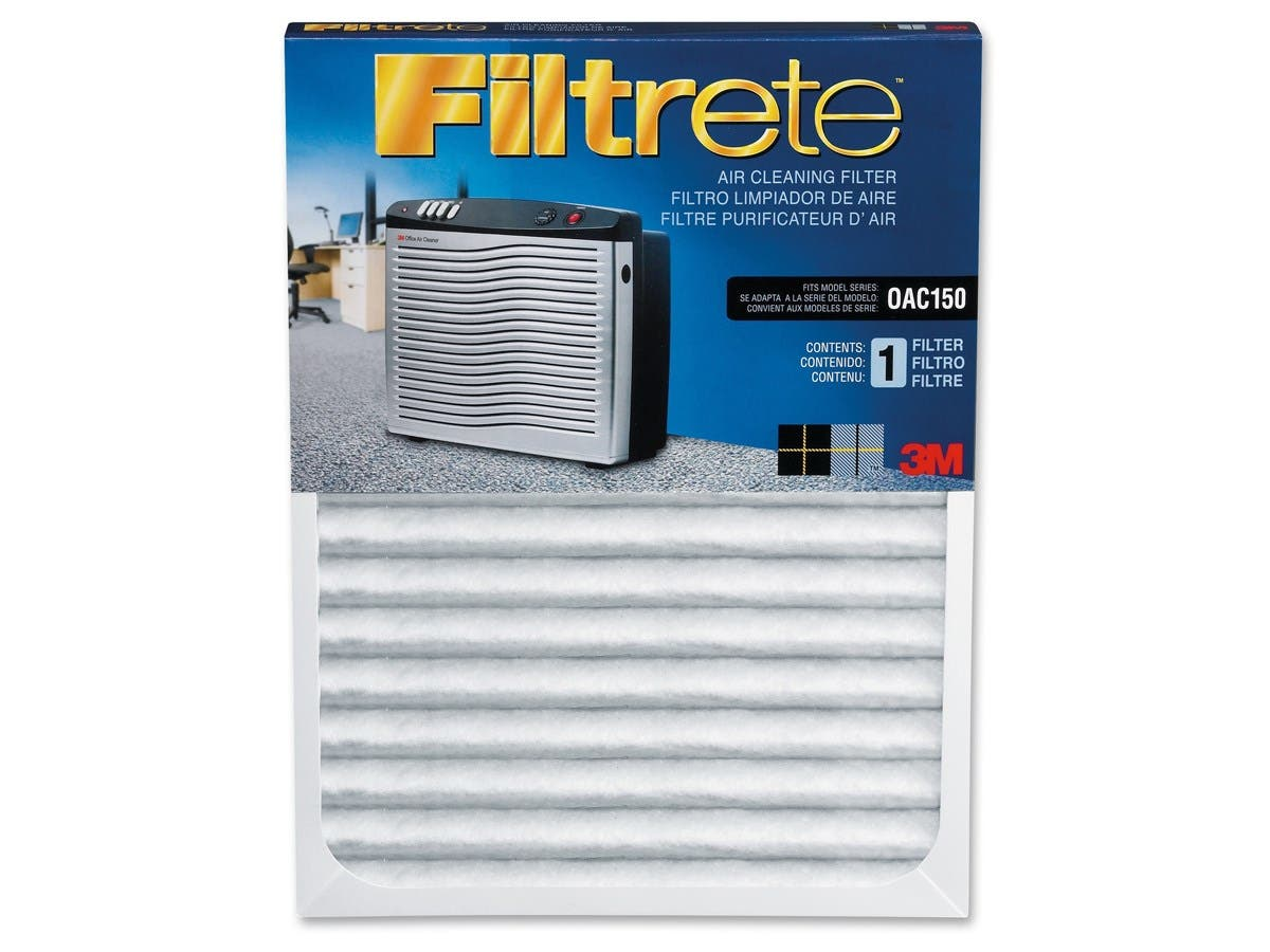 "Filtrete Replacement Air Filter - 11"" Height x 23.5"" Width x 1.12"" Depth - White-Large-Image-1"