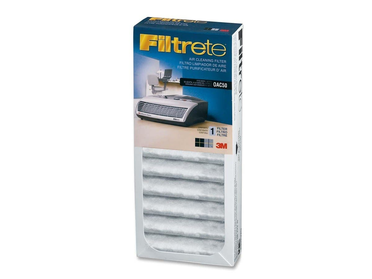 "Filtrete Replacement filter - 10.25"" Height x 4.25"" Width x 1.75"" Depth - White"